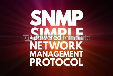 Business: SNMP - Simple Network Management Protocol acronym technology co #16770