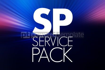 Business: SP - Service Pack acronym technology concept background #16772