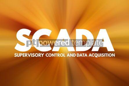 Business: SCADA - Supervisory Control And Data Acquisition acronym techno #16790