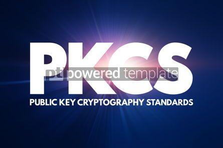Business: PKCS - Public Key Cryptography Standards acronym technology con #16806