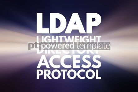 Business: LDAP - Lightweight Directory Access Protocol acronym technology #16826