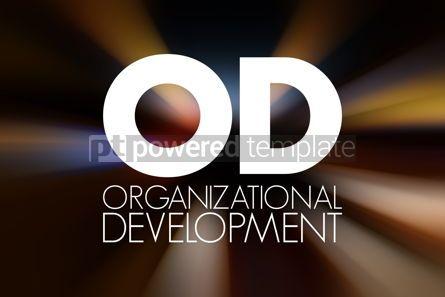 Business: OD - Organizational Development acronym business concept backgr #16864