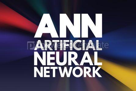 Business: ANN - Artificial Neural Network acronym technology concept back #16871