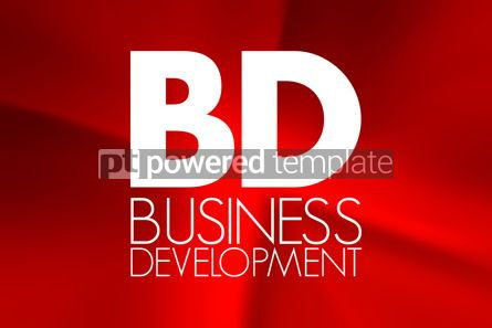 Business: BD - Business Development acronym business concept background #16900