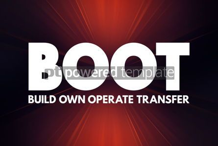 Business: BOOT - Build Own Operate Transfer acronym concept background #16920