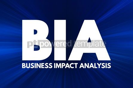 Business: BIA - Business Impact Analysis acronym concept background #16923