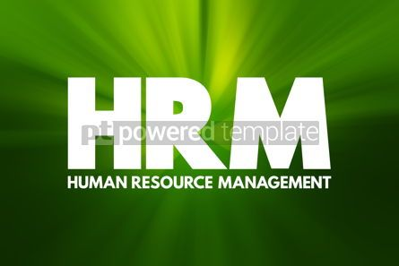 Business: HRM - Human Resource Management acronym business concept backgr #16926