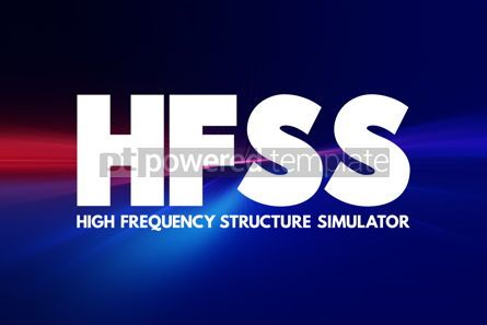 Business: HFSS - High Frequency Structure Simulator acronym technology co #16961