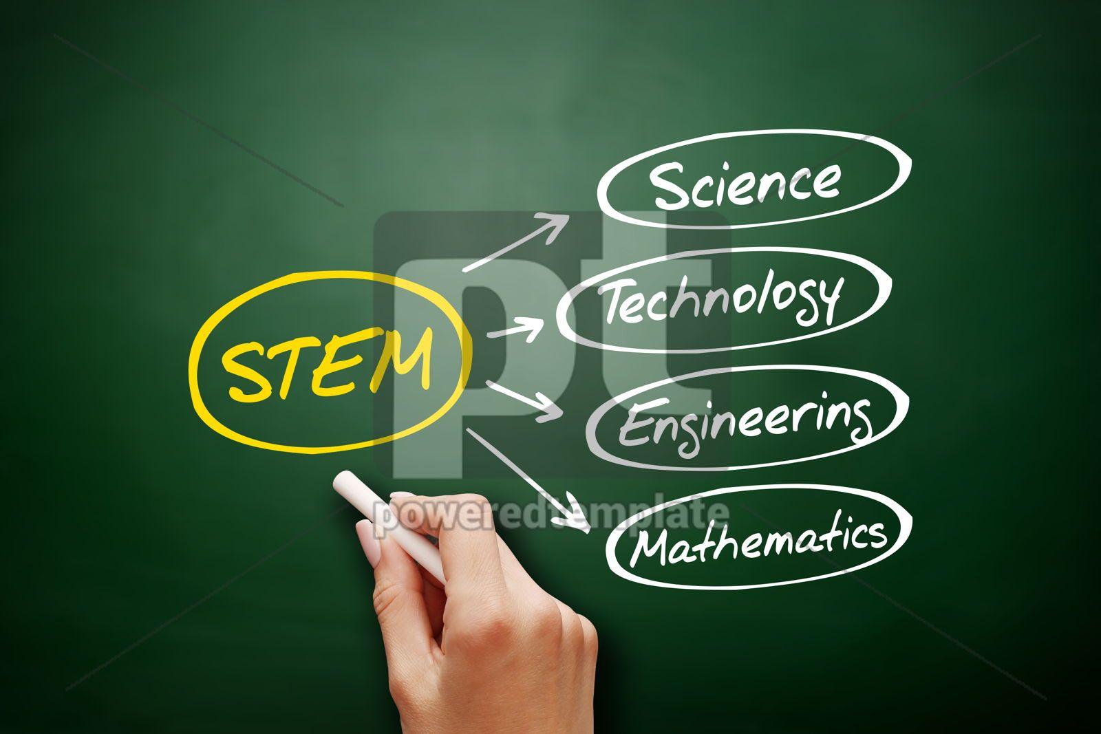 STEM - Science Technology Engineering Mathematics, 16978, Business — PoweredTemplate.com