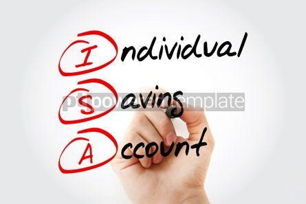 Business: ISA - Individual Saving Account acronym #17030