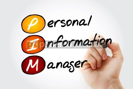 Business: PIM - Personal Information Manager acronym #17031