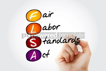 Business: flsa - fair labor standards act acronym #17033