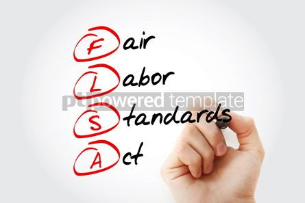 Business: flsa - fair labor standards act acronym #17034
