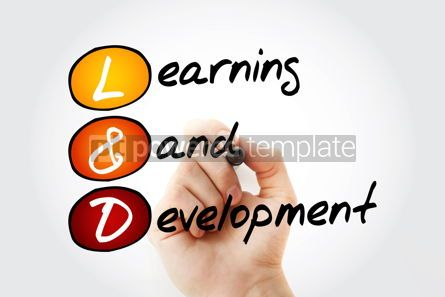 Business: L and D Learning and Development acronym #17035