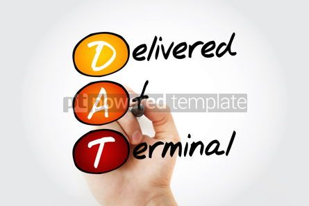 Business: DAT Delivered at Terminal acronym #17057