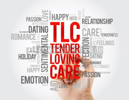 Business: TLC - Tender Loving Care word cloud concept background #17067