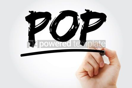 Business: POP - Power Of Prayer Power Of Practice acronym concept backg #17083