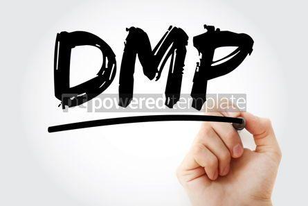 Business: DMP - Debt Management Plan acronym business concept background #17097