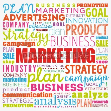 Business: Marketing word cloud collage business concept background #17112