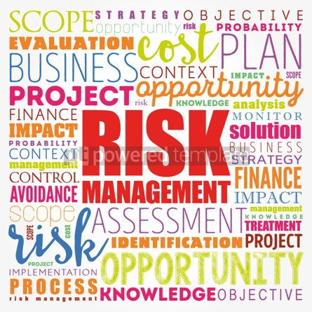 Business: Risk Management word cloud collage business concept background #17122