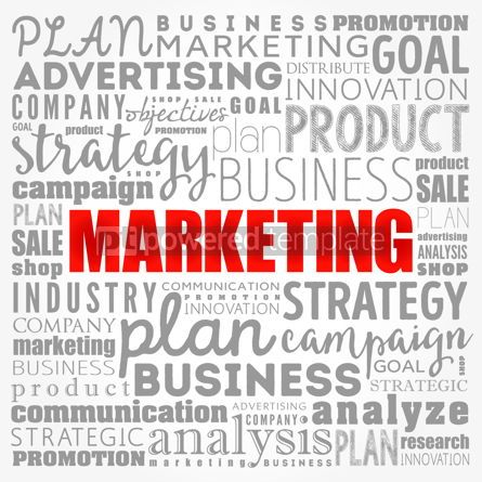 Business: Marketing word cloud collage business concept background #17128