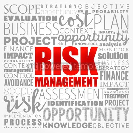 Business: Risk Management word cloud collage business concept background #17137