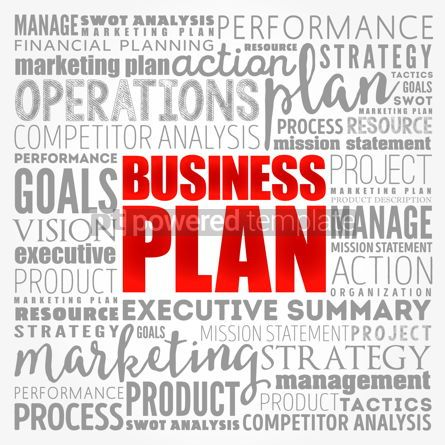 Business: Business plan word cloud collage business concept background #17139