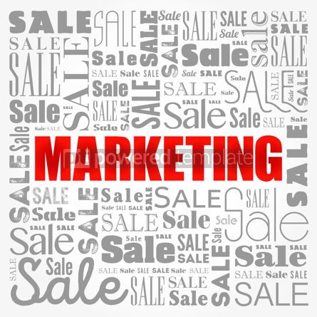 Business: Marketing word cloud collage business concept background #17163