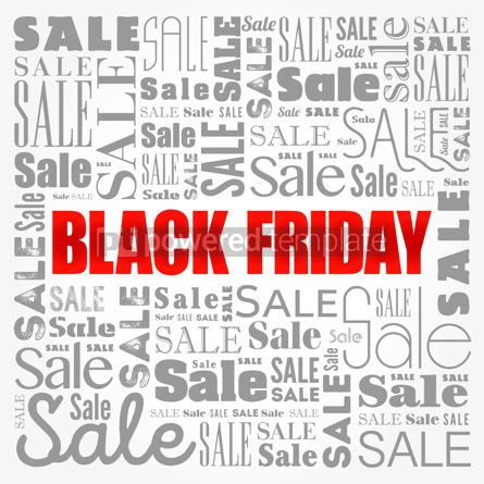 Business: Black Friday Sale word cloud collage business concept backgroun #17167