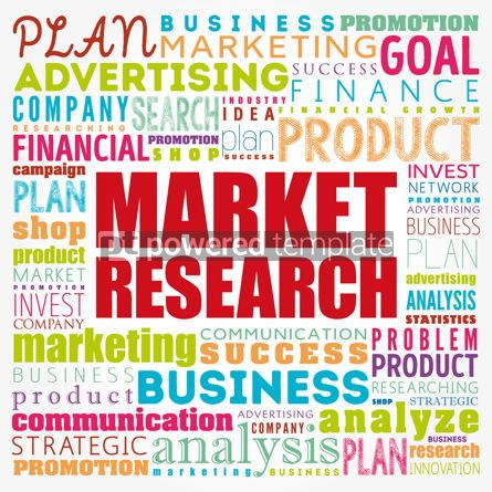 Business: Market research word cloud collage business concept background #17186