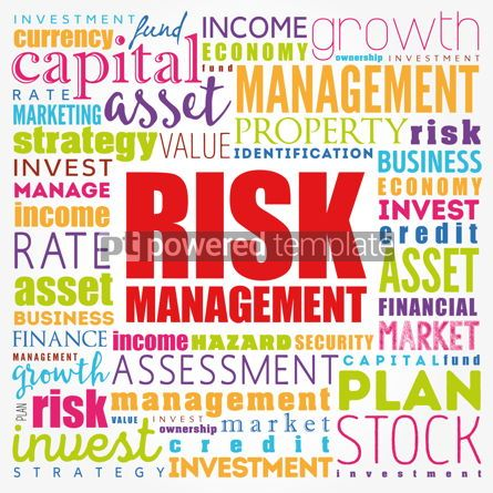 Business: Risk Management word cloud collage business concept background #17194