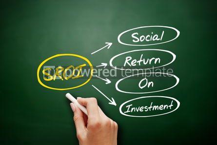 Business: SROI - Social Return On Investment acronym #17219