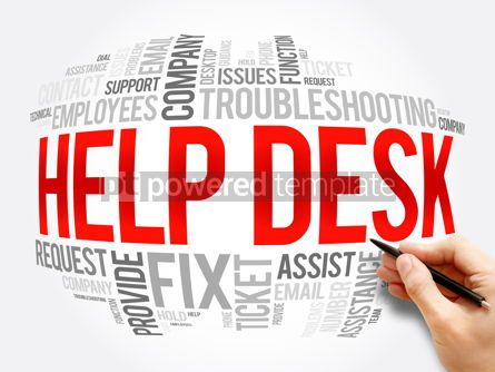 Business: Help Desk word cloud collage business concept #17261