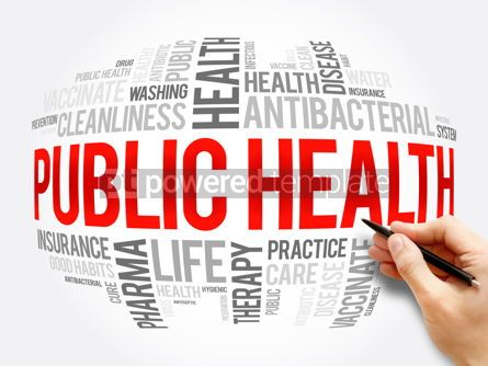 Business: Public health word cloud collage healthcare concept #17282