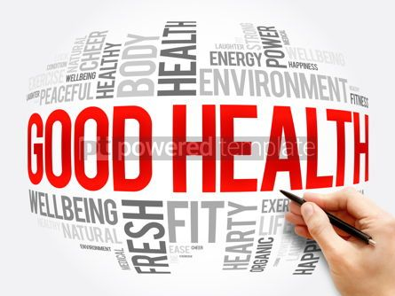 Business: Good Health word cloud collage health concept #17296
