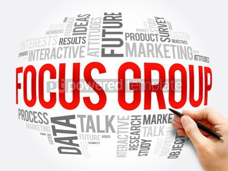 Business: Focus Group word cloud collage business concept #17298