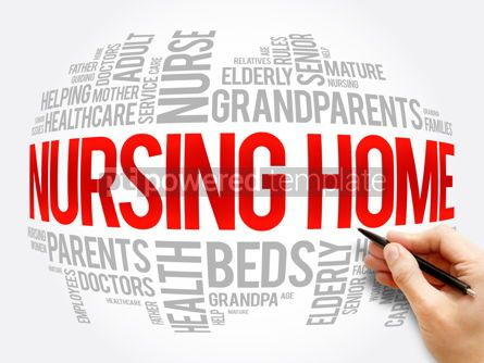 Business: Nursing Home word cloud collage health concept #17301