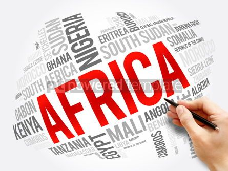 Business: List of African countries word cloud collage #17312