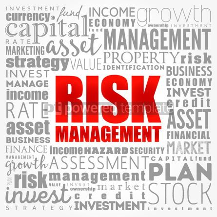 Business: Risk Management word cloud collage business concept background #17340