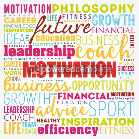 Business: MOTIVATION word cloud collage coaching concept background #17360