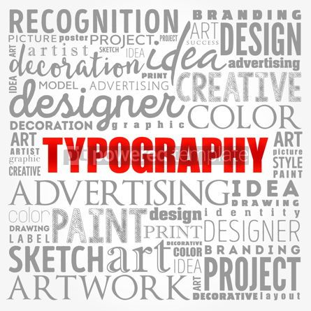 Business: TYPOGRAPHY word cloud collage creative concept background #17370