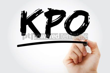 Business: KPO - Knowledge Process Outsourcing acronym business concept ba #17427