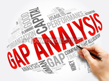 Business: Gap Analysis word cloud collage business concept #17535