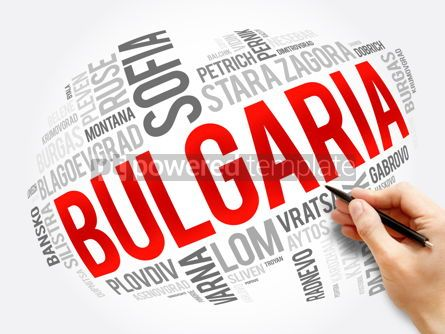Business: List of cities and towns in Bulgaria word cloud #17559