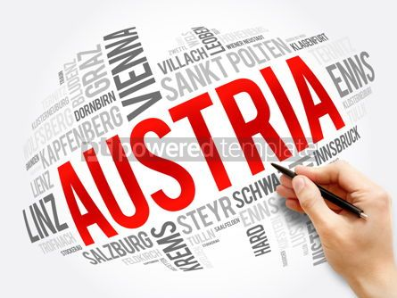 Business: List of cities and towns in AUSTRIA word cloud #17561
