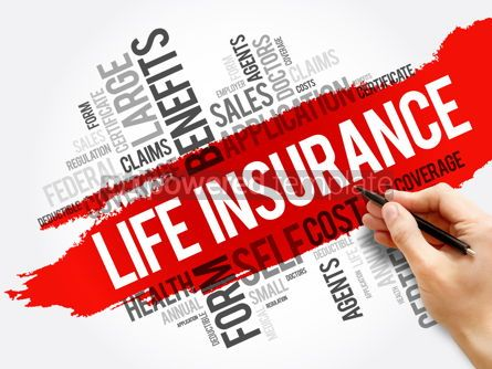 Business: LIFE Insurance word cloud collage healthcare #17566