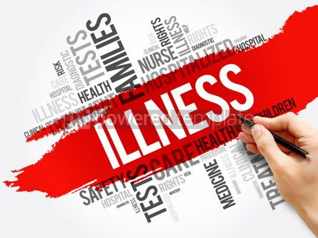 Business: ILLNESS word cloud collage health concept #17570