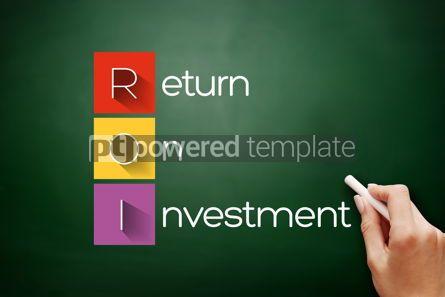 Business: ROI - Return On Investment acronym #17598
