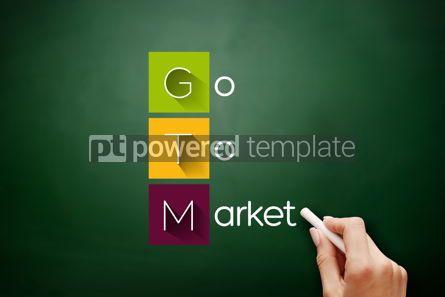 Business: GTM - Go To Market acronym business concept #17623