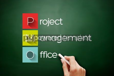 Business: Hand drawn PMO - Project Management Office #17626